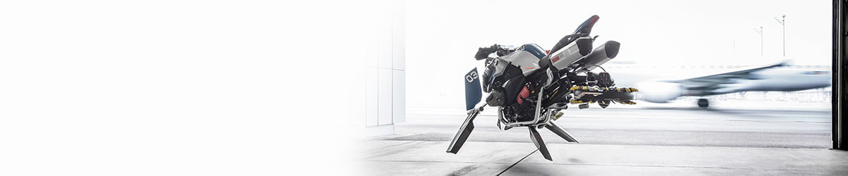 Wheels? Where BMW's Hover Ride Concept bike is going, we don't need wheels