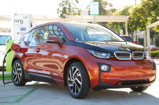 BMW i3 DC Fast Charger NRG eVgo Freedom Stations