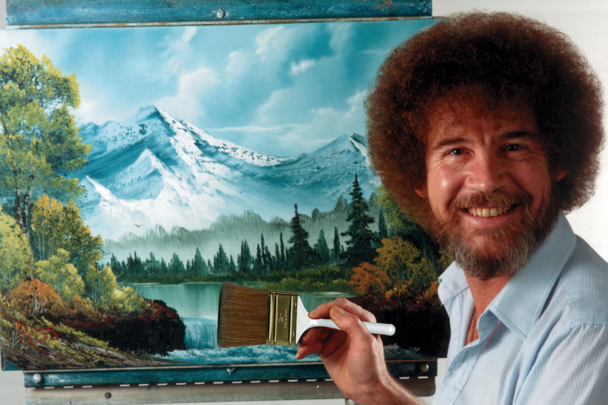 how tall is bob ross