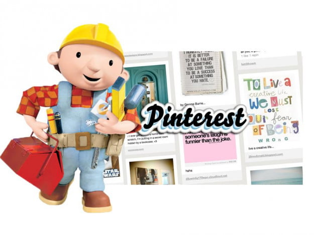 bob the builder meets pinterest