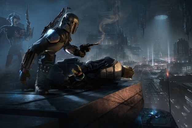 Boba Fett Start Wars 1313