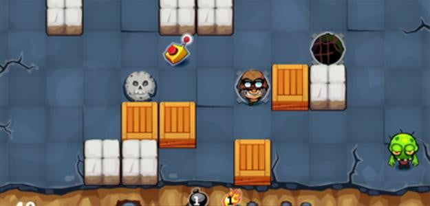 bomberman vs zombies screenshot blackberry app