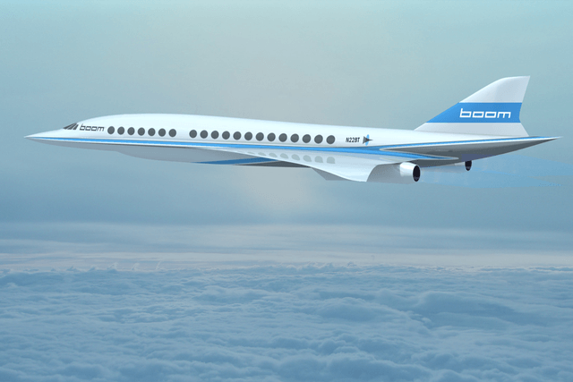 virgin to invest in supersonic jet company boom flying