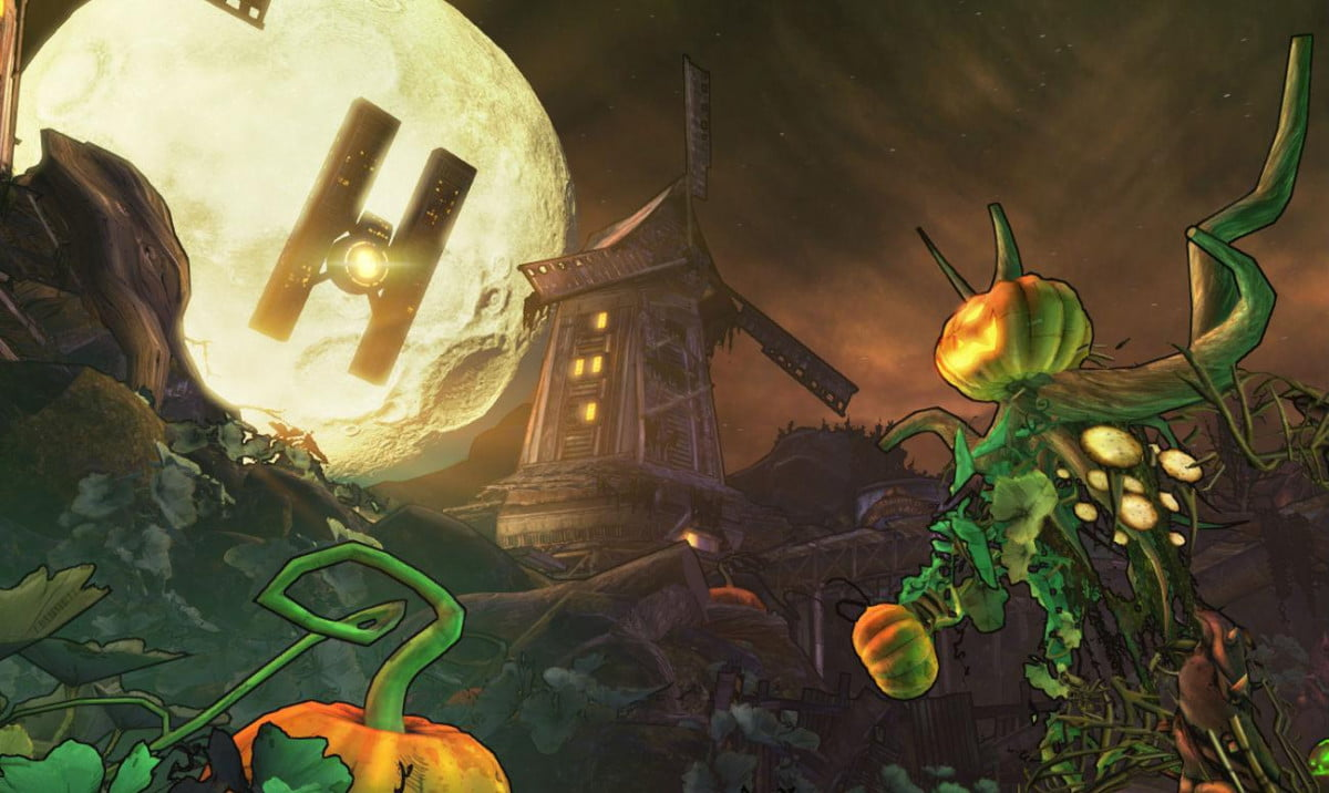 borderlands  halloween themed dlc given a release date cat