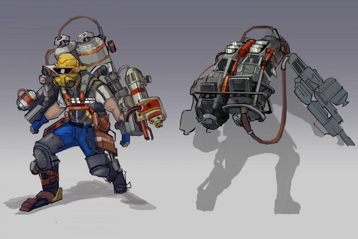 pirates ninjas and robots expanding borderlands  at a time dlc pyro pete