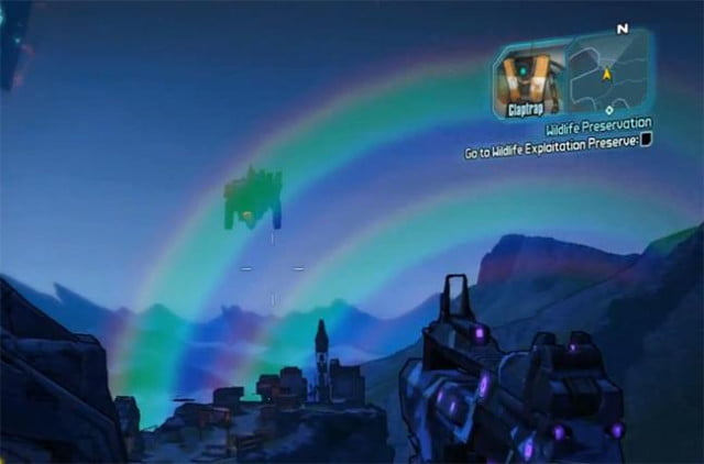 borderlands  add colorblind mode forthcoming update double rainbow