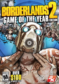 Borderlands 2 GOTY box