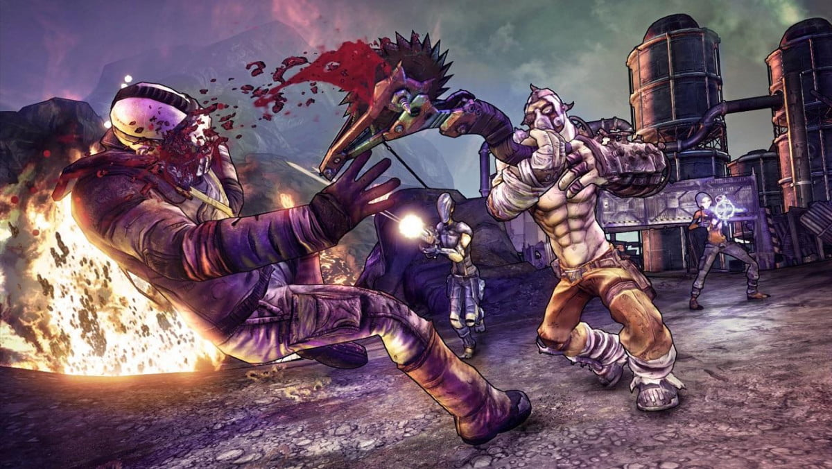 the joys of self immolation and other fun facts from borderlands  dlc development krieg