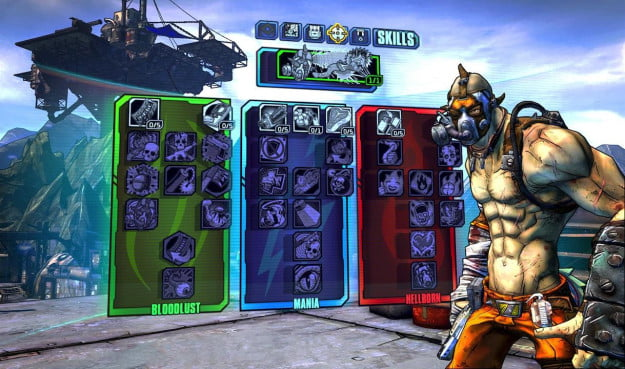 Borderlands 2 Krieg skill tree