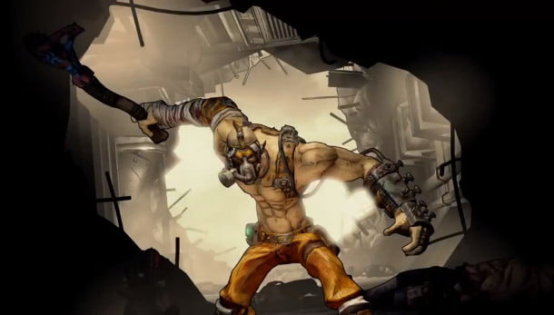 Borderlands 2 Krieg the Psycho