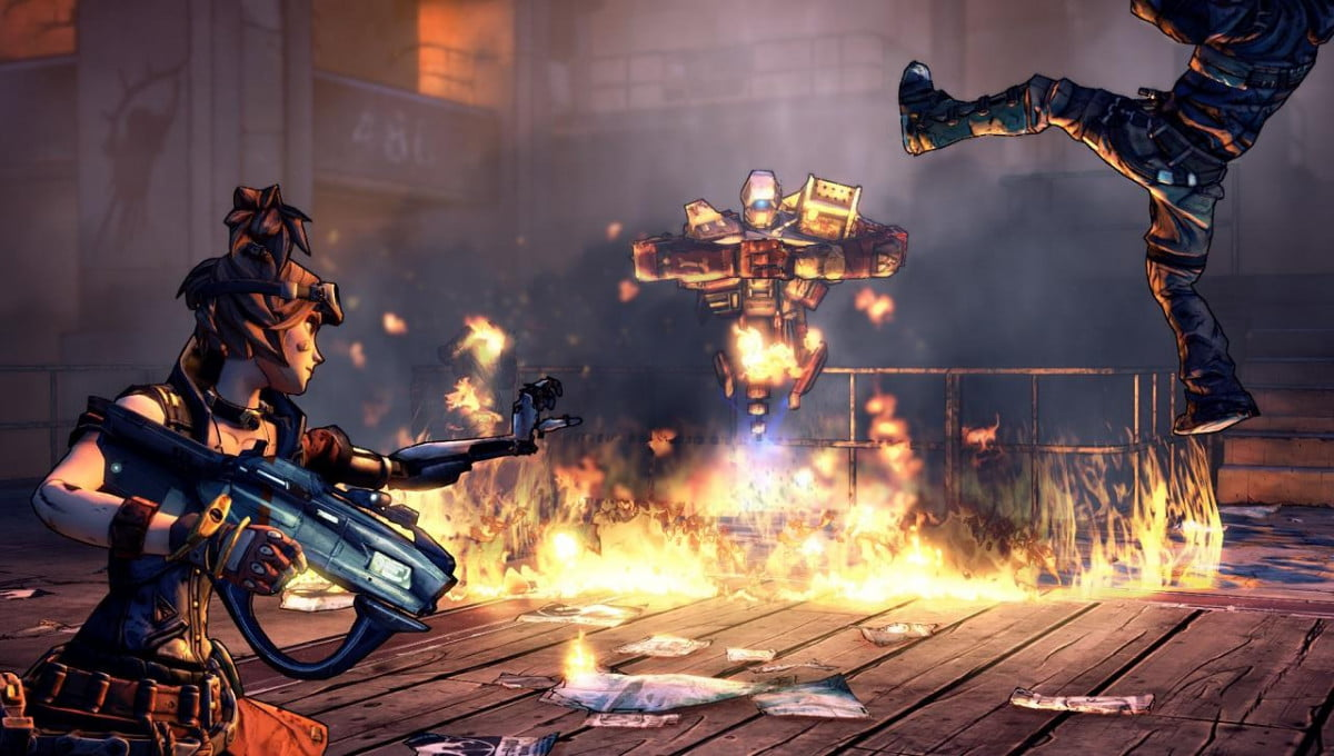 play borderlands  free weekend steam mechromancer