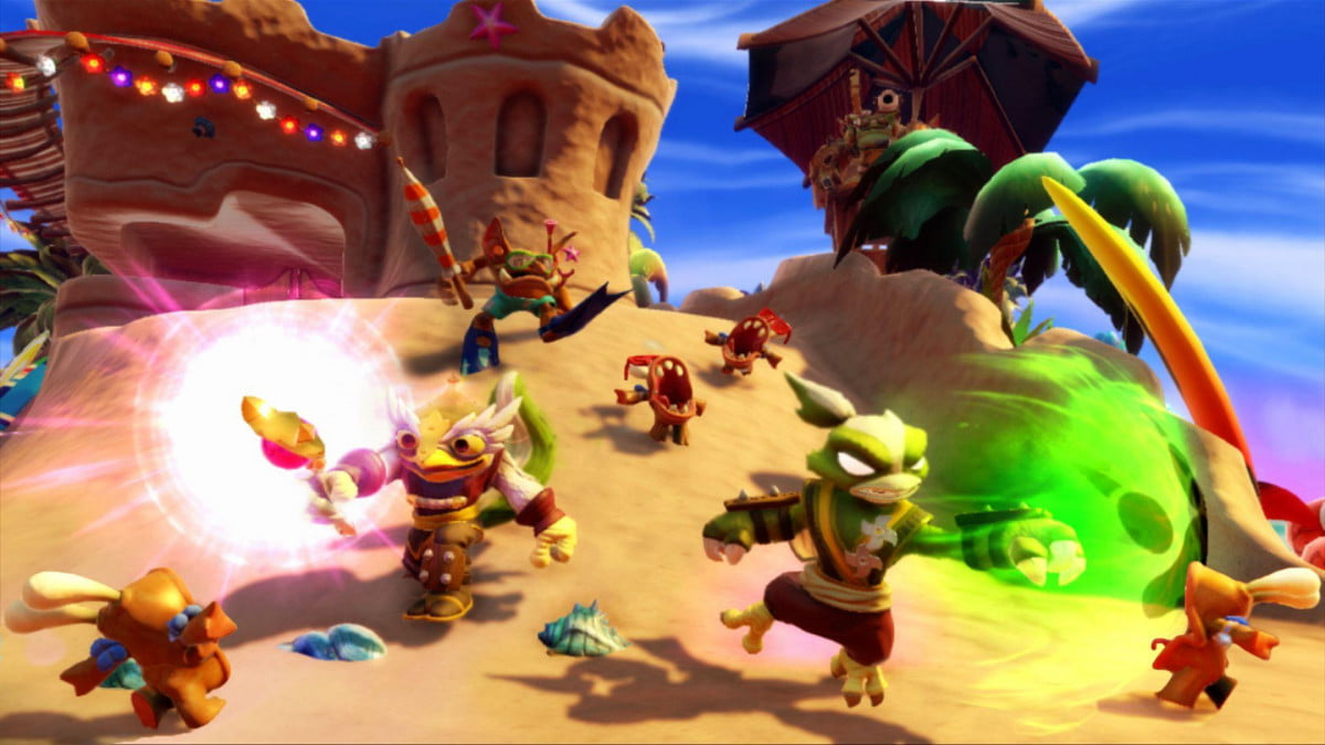 skylanders swap force preview mix match your way to victory  screenshot