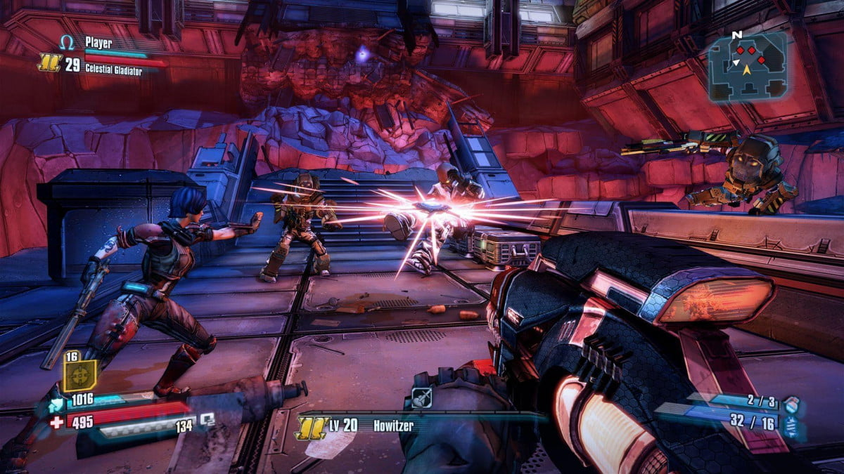 gearbox shares narrated gameplay borderlands pre sequel the  x