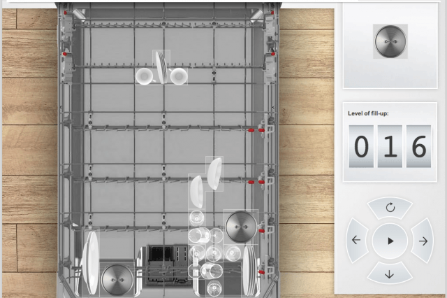 boschs tetris like game has you load up a dishwasher bosch