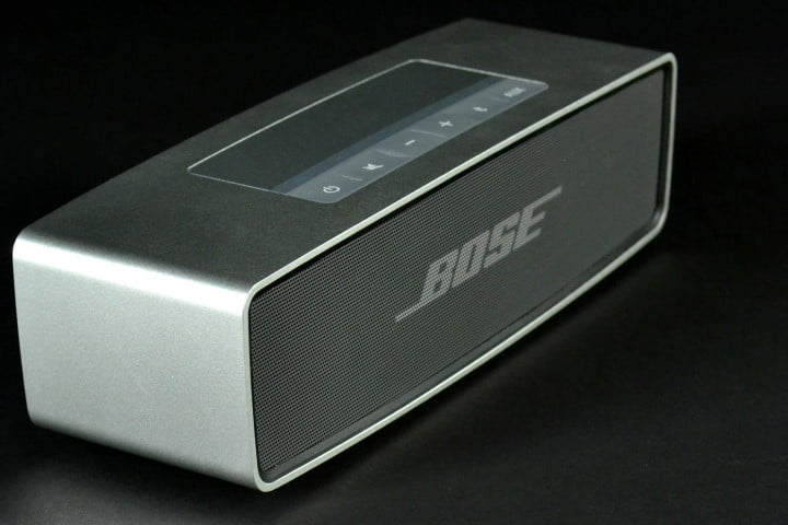 bose soundlink mini review front left angle