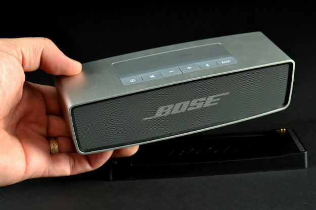Bose SoundLink Mini in hand