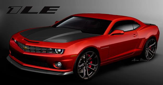 Boss-battle-2013-Chevrolet-Camaro-1LE-takes-on-Ford's-race-ready-Mustang