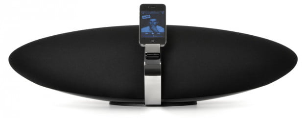 Bowers Wilkins Zeppelin front iphone
