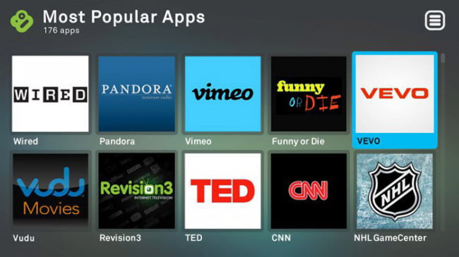 Boxee Apps