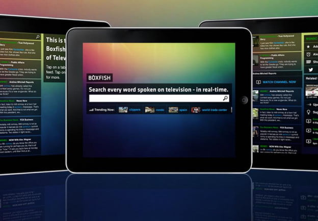 Boxfish debuts its second screen, TV Guide-killing iPad app