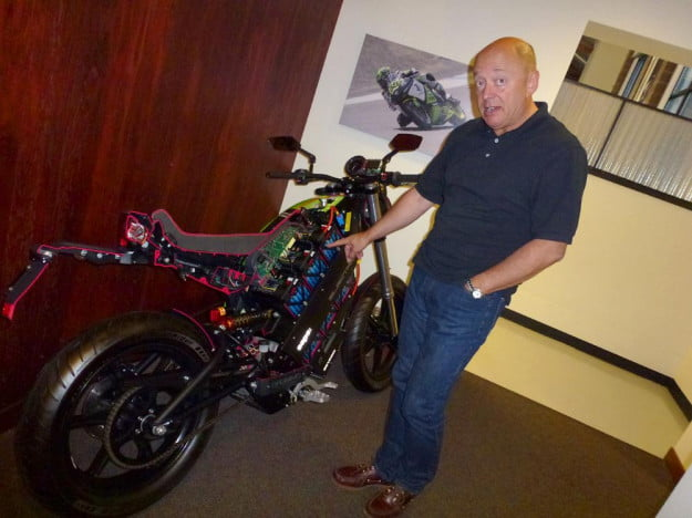 Brammo Empulse electric motorcycle preview inside owner brammo headquarters adrian stewart