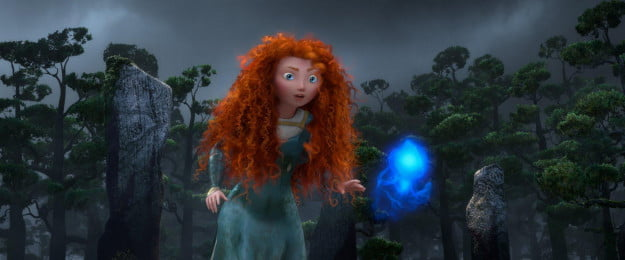 Merida with a Will O' the Wisps