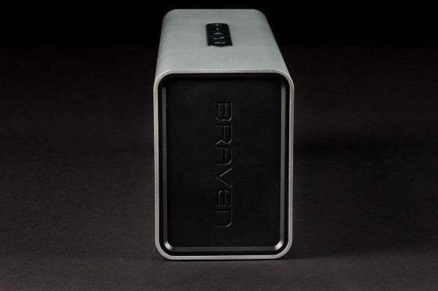 Braven 850 portable bluetooth speaker left side