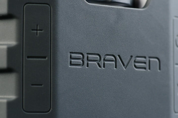 braven brv 1 speaker volume skip track toggle