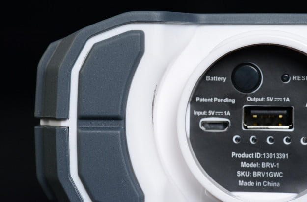 braven brv 1 speaker weatherproof and shock resistant housing ports