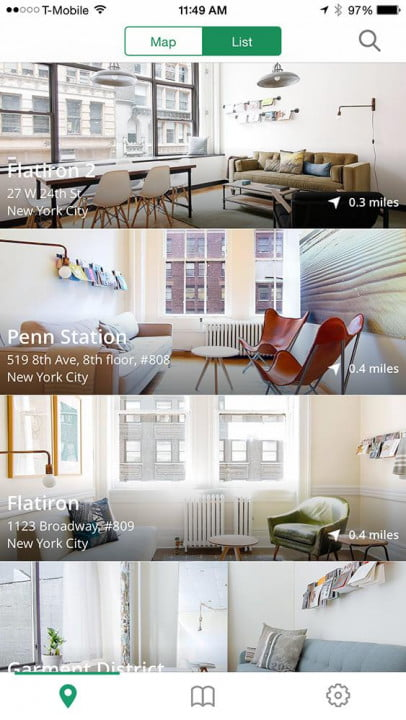 what its like to rent a quiet breather room app ios locations