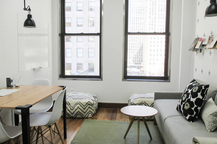 what its like to rent a quiet breather room app rock plaza  nyc