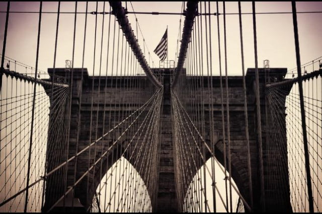 parody twitter account gets subpoenaed brooklyn bridge white flag joke