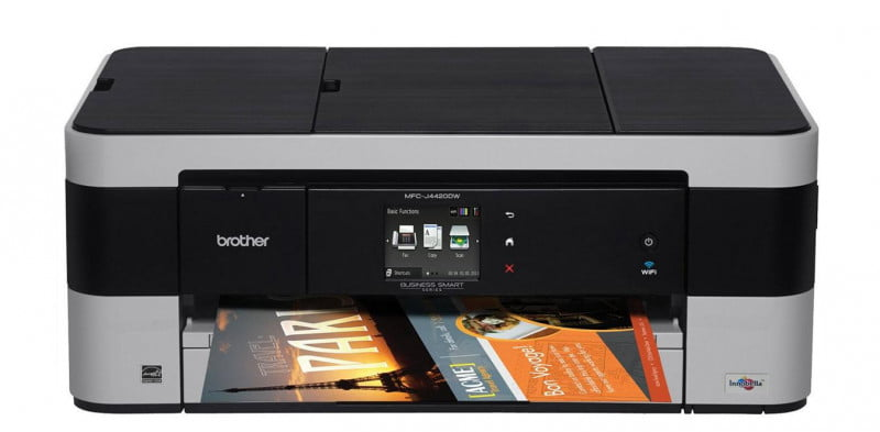 brother mfc j  dw review press image
