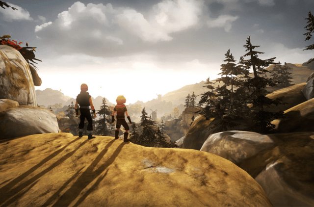 "Best Small Studio Game, Best Mechanics and Game of the Year Nominee: ""Brothers: A Tale of Two Sons"""