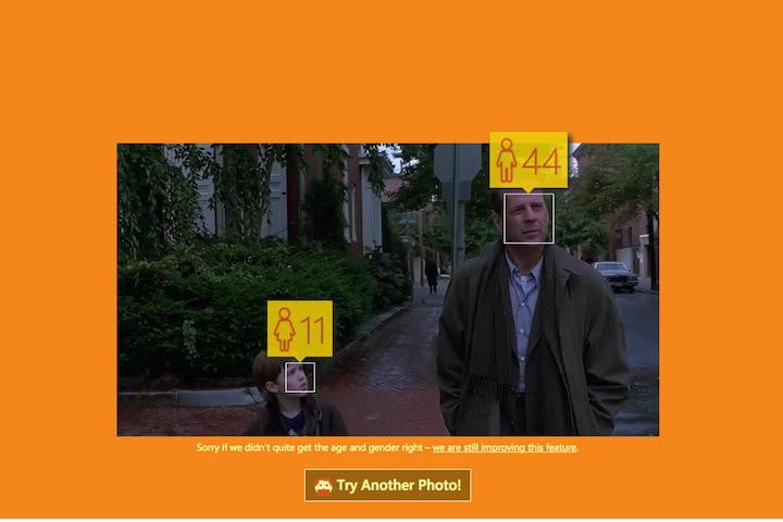 how old net microsoft face recognition news bruce willis sixth sense age