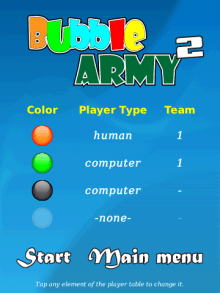 Bubble Army