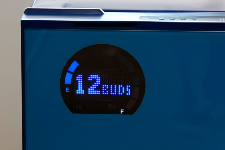bud light introduces its e smart fridge display