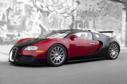 first bugatti veyron sells for 1 8 million at auction 15 minute. Black Bedroom Furniture Sets. Home Design Ideas