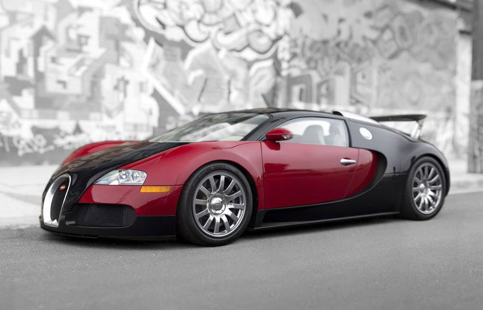 First Bugatti Veyron Sells for $1.8 Million at Auction   Digital