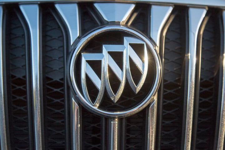 buick encore review badge