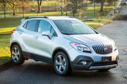 Buick Encore front angle