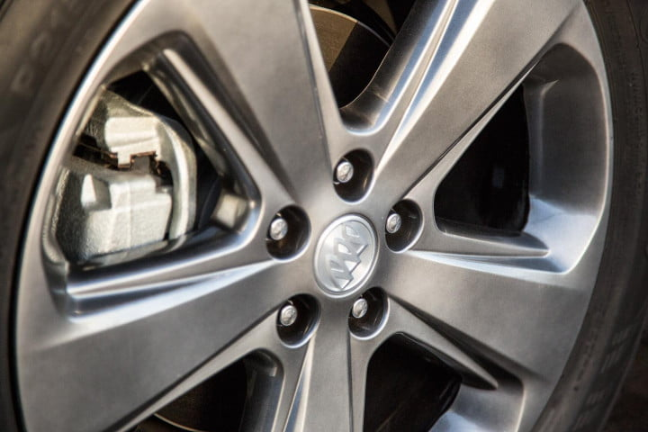 buick encore review wheel