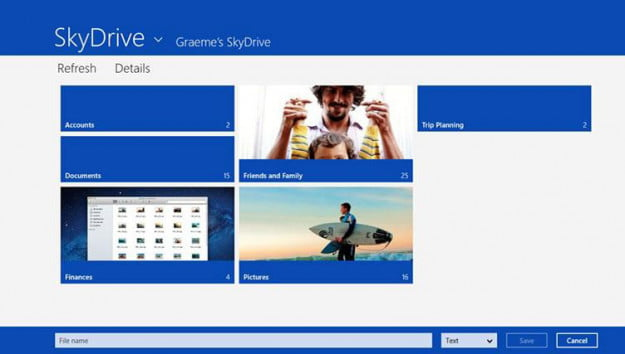 BUILD 2013 SkyDrive