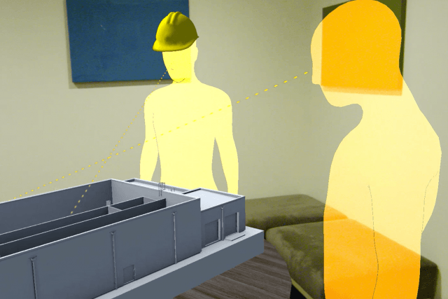 hololens collaboration augmented reality object theory cdm smith building mode  x c