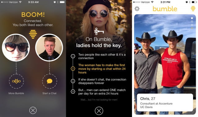 how to know if someone contacts you on bumble