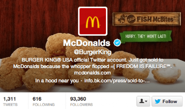 Burger King hack