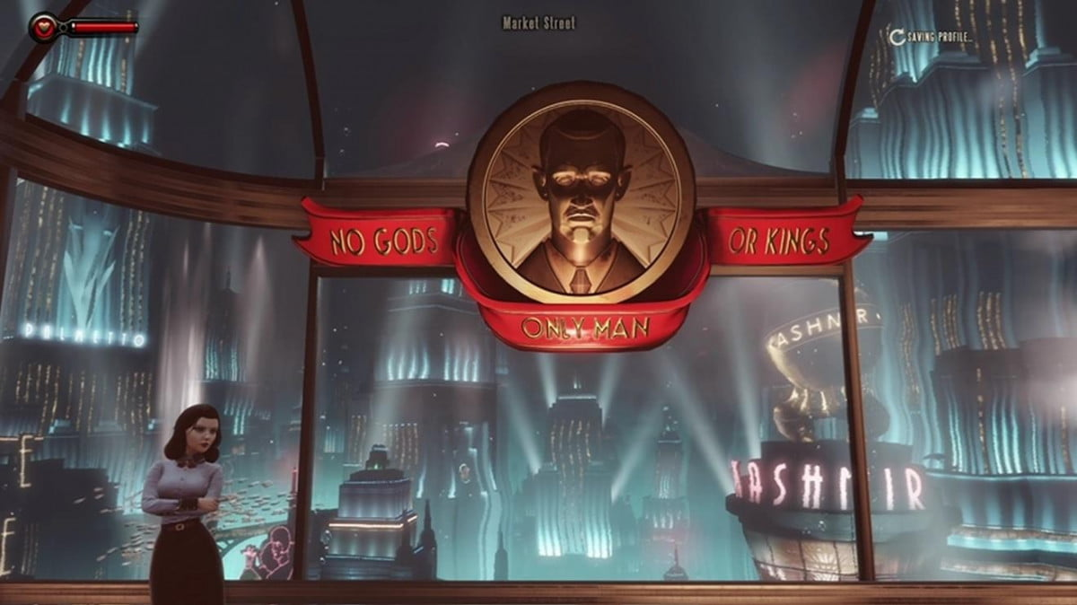 check out the first few minutes of bioshock infinite burial at sea