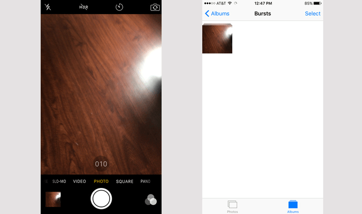 how to delete multiple photos from iphone 6 plus