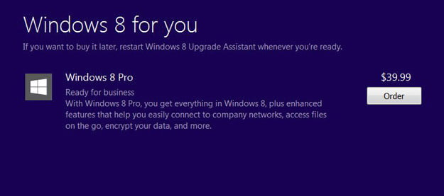 Buy Windows 8 install