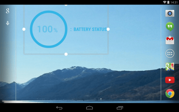 Buzz_Widget_Android_tablet_app_screenshot